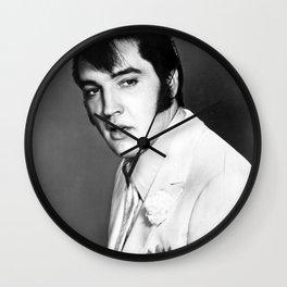 Presley Portrait Wall Clock