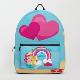Mermaids, Unicorns and Rainbows! Do you believe in Magic Backpack