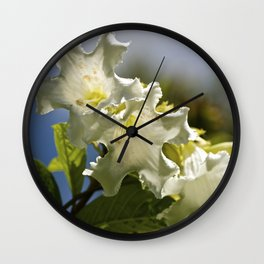 """""""Moonflower"""" by ICA PAVON Wall Clock"""
