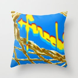 Balling Throw Pillow