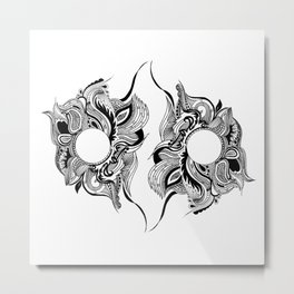 Year Zero Metal Print