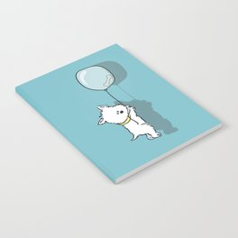 Hungry Westie Puppy Notebook