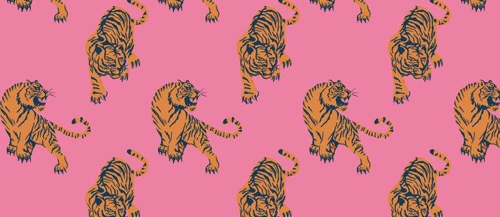 tiger print pink Coffee Mug