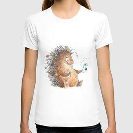 Porcupine Selfie T-shirt