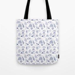 loon pattern Tote Bag
