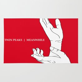 A Twin Peaks - The Antlers Homage Rug