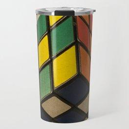 Cube of Rube Travel Mug
