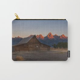 Moulton Barn - Sunrise in Grand Tetons Carry-All Pouch