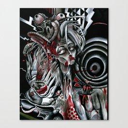 Mind Blown Ninfo Canvas Print