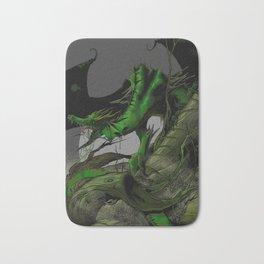 Dungeons, Dice and Dragons, Green Dragon Bath Mat