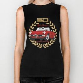 Alfa Romeo Spider 50th anniversary Biker Tank
