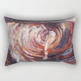 Element - wood Rectangular Pillow