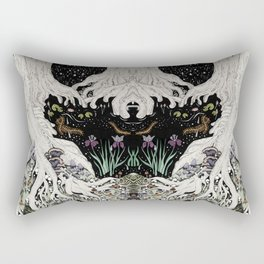 Starry Forest Rectangular Pillow