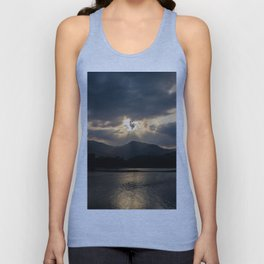 Shining Eye on the Sky Unisex Tank Top