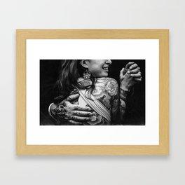 Love Rock Framed Art Print