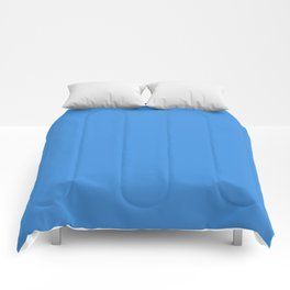 Tufts Blue - solid color Comforters