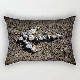 Stone arrow Rectangular Pillow