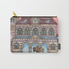 Chapel Hall Gallaudet University Carry-All Pouch