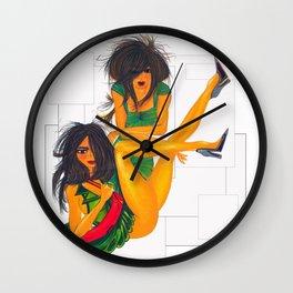 """Model Idea"" Wall Clock"
