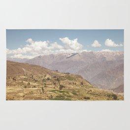 Colca canyon in Arequipa Peru Rug