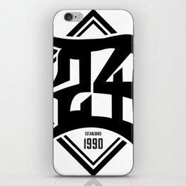 D24 Designs logo iPhone Skin