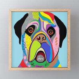 Mastiff Framed Mini Art Print