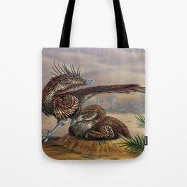 Brooding Velociraptors Tote Bag