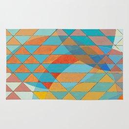 Triangle Pattern No. 11 Circles Rug