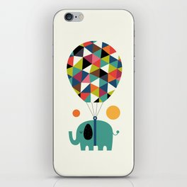Fly High And Dream Big iPhone Skin