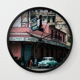 La Floridita Wall Clock