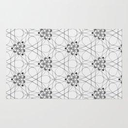 knotting threads pattern Rug