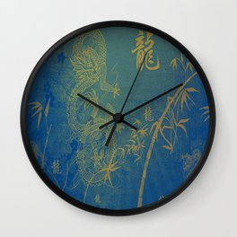 Legend Of The Dragon Wall Clock