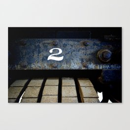 Number 2 Canvas Print