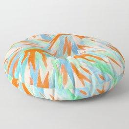 Volcanic Landscape Floor Pillow