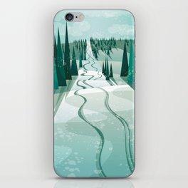 Winter Slope iPhone Skin