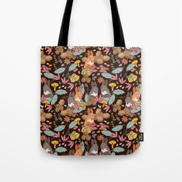 nuts and squirrels Tote Bag