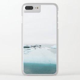 Jökulsárlón II Clear iPhone Case