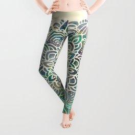 Mandala Mermaid Oceana Leggings