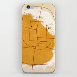 One Who Understands by Paul Klee, 1934 iPhone Skin