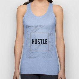 HUSTLE MARBLE DECOR, Hustle Boss,Hustle Art,Hustle Print,Marble Print,Modern Art,Fashion Print,Motiv Unisex Tank Top