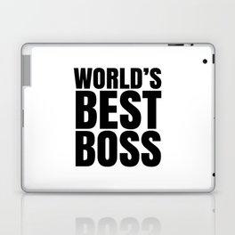 WORLD'S BEST BOSS Laptop & iPad Skin