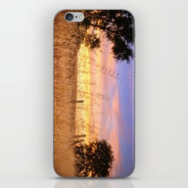 Evening Glow a country sunset iPhone Skin
