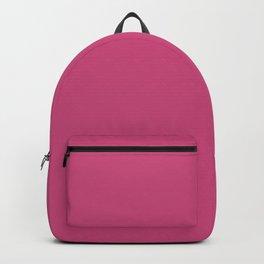 Pink Yarrow   Pantone Fashion Color Spring : Summer 2017   Solid Color Backpack
