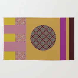 Mix n Match with Circle 2 Rug