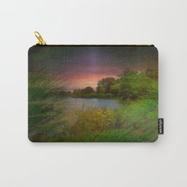 Sunset On The Lagoon Carry-All Pouch