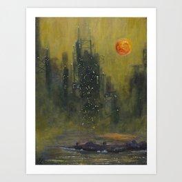 Untitled (Industrial)  Art Print