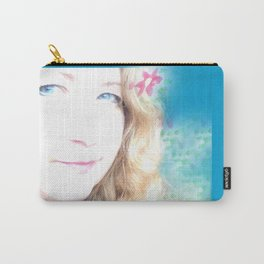 Holiday Dreams Self Portrait Carry-All Pouch