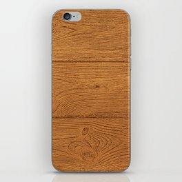 The Cabin Vintage Wood Grain Design iPhone Skin