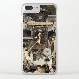 For the Purpose Clear iPhone Case
