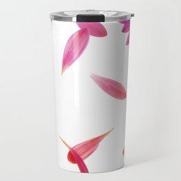 purple petaled flower  Travel Mug